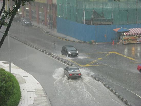 Quand il pleut, il pleut !