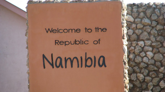 Welcome to Namibia !