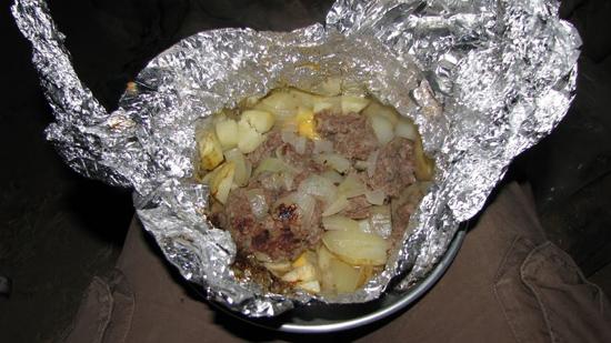 Patates à la viande hachée, façon Christophe
